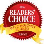 reader's choice award banner