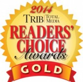 reader's choice award banner